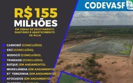 Codevasf investirá cerca de R$ 150 milhões em 14 municípios de PE
