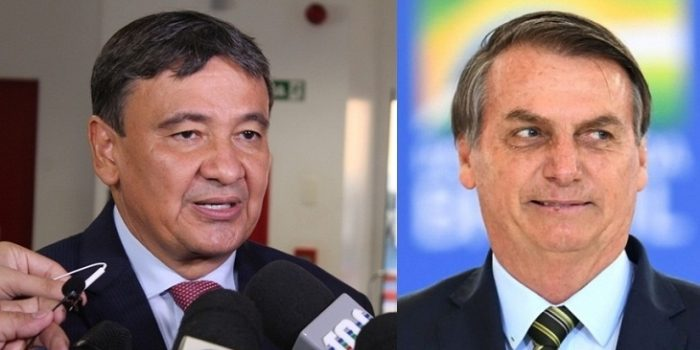 Governador do Piaui, Wellington Dias e presidente Jair Bolsonaro