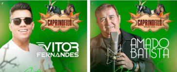 Atrações confirmadas para Caprinofiló 2020