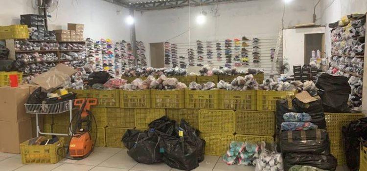 Analistas-Tributários atuaram na apreensão de mercadorias contrabandeadas