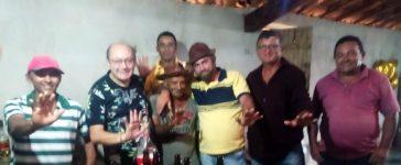 Arlei de Basto com Pedro Gildevan