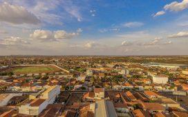 Cidade de Dormentes, visão aérea