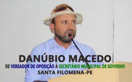 Vereador de Santa Filomena, Danúbio Macedo