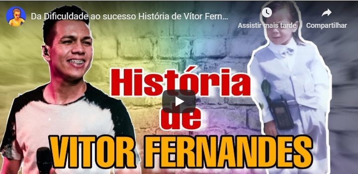 História do cantor Vitor Fernandes