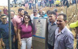 Gestão Eliane Soares inaugura passagem molhada da comunidade Portelinha