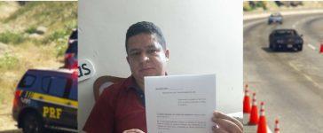 Jaécio Sá quer lei que impeça a apreensão de veículos pela PRF no município de Trindade-PE