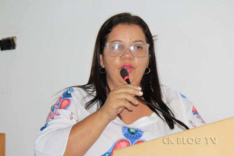 Vice Prefeita Alcilene