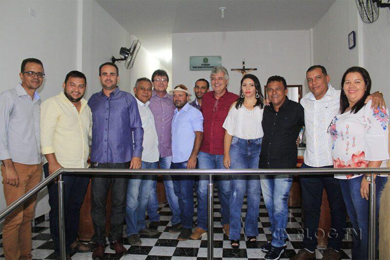 Posse do vereador Tico de Pedro Otávio, Santa Filomena, PE