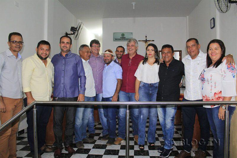 Foto oficial da Posse do vereador Tico de Pedro Otávio