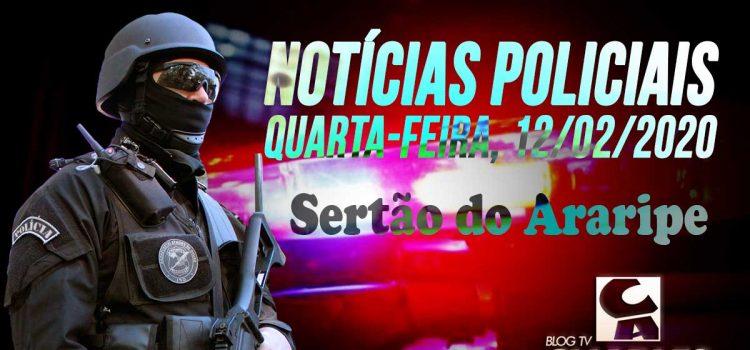 NOTÍCIAS POLICIAIS DO SERTÃO DO ARARIPE