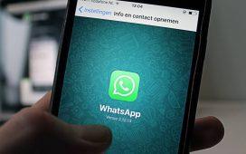 alteração do WhatsApp