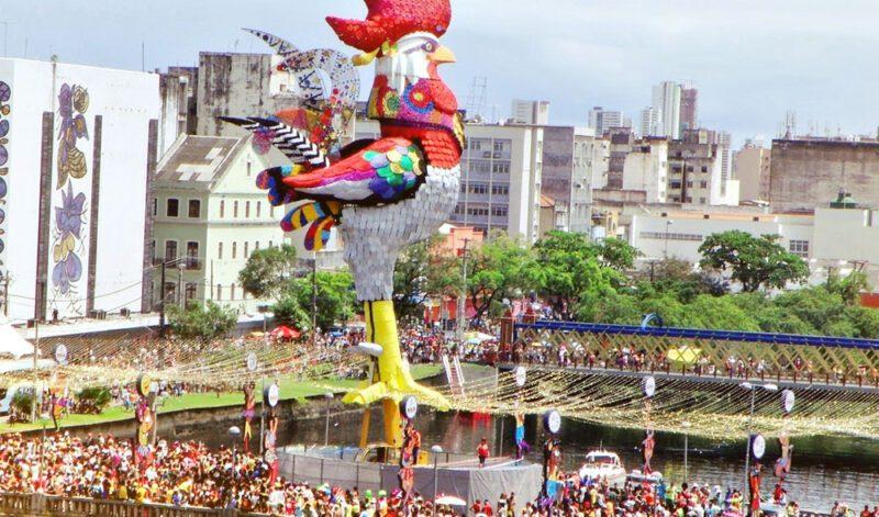 Estatua do Falo da Madrugada Recife PE