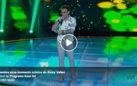 Programa Raul Gil: momento icônico do Ricky Vallen no Shadow Brasil