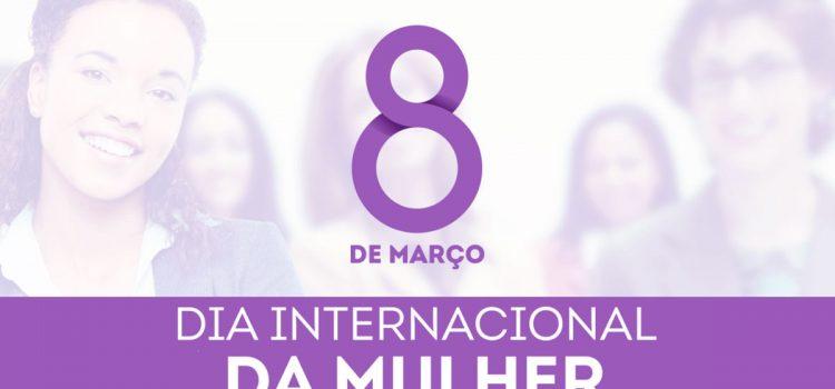 Banner Dia Internacional da Mulher - #CABLOGTV