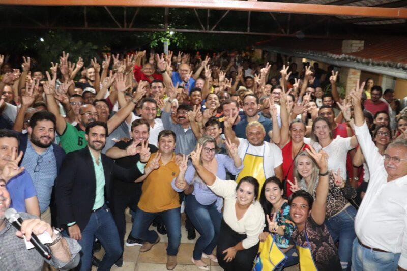 Lançamento da pré-candidatura de Botinha com Antonio Fernando em Ouricuri-PE