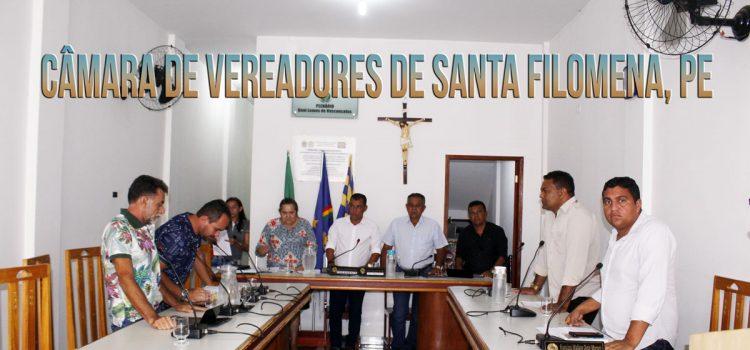 Câmara de vereadores de Santa Filomena-PE