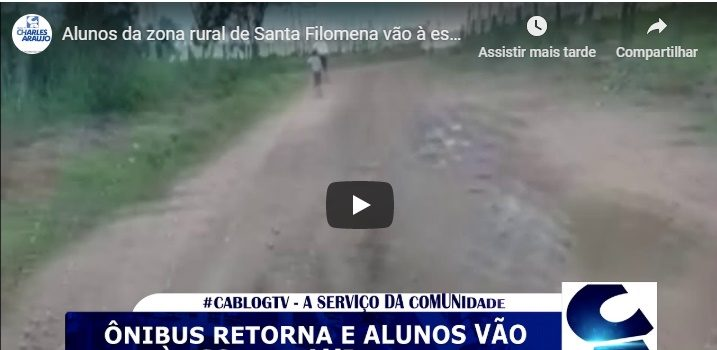 Estrada do distrito Socorro ao distrito Varzinha - Onibus escolar não passa