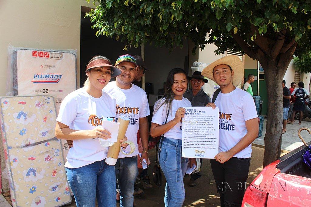 Oxente eu sou consciente, faz campanha em Santa Filomena