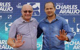 Pré candidato Edvaldo barros com Pedro Gildevan