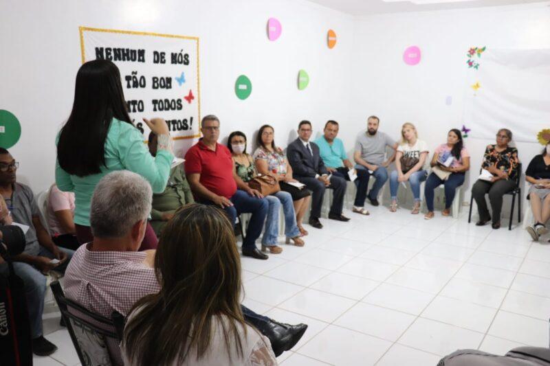 Prefeitura Municipal reúne representantes da Sociedade Civil para discussão de plano de ações contra o COVID19