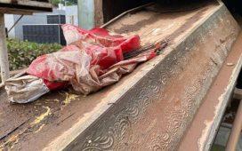 Chuva derruba muro e arrasta covas de cemitério em Crato, no Cariri