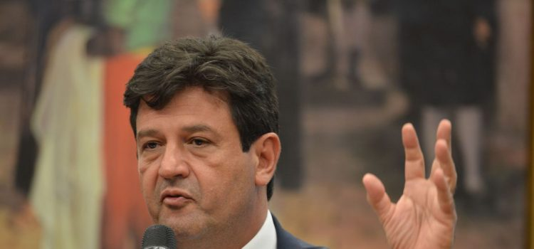 Ministro da Saúde, Brasil - sobre coronavirus