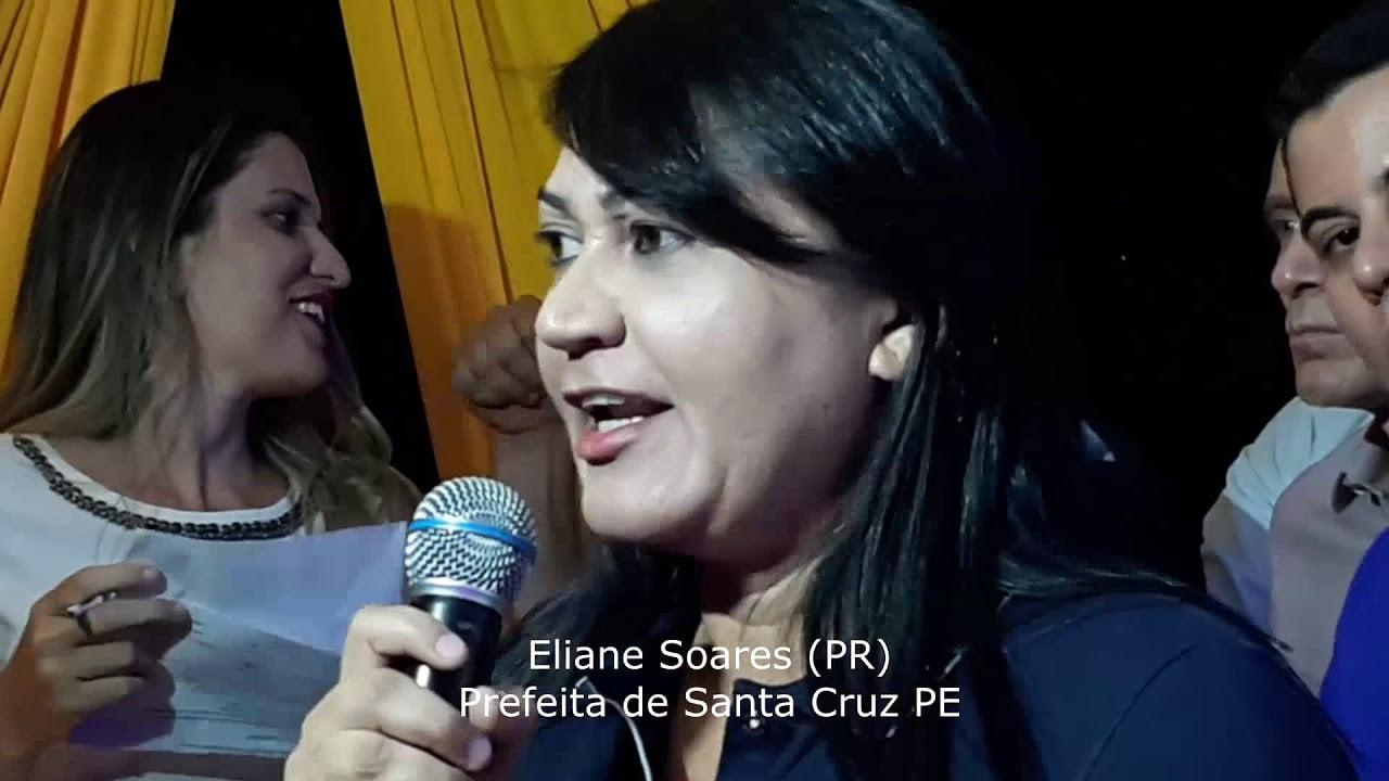 Prefeita de Santa Cruz, PE - Eliane Soares