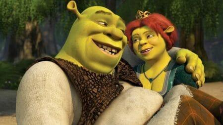 Toda a saga de Shrek