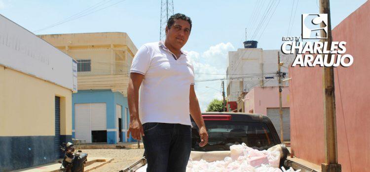 vereador Wallace Mororó divide seu salário com população de Santa Filomena