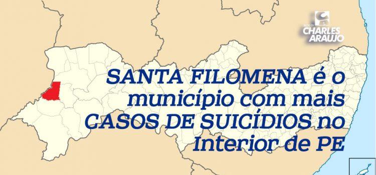 Santa Filomena é o município com mais casos de suicídios no Interior de PE; Veja a análise