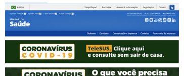 Ministerio da Saúde Brasileiro - Consulta Online Coronavírus