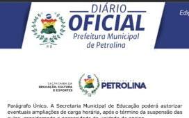 Prefeito de Petrolina nomeia mais cargos comissionados e corta salários e benefícios de servidores