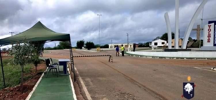 Santa Cruz implanta barreiras sanitárias em todos os limites do município