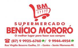 Mega Sorteio do Supermercado Benício Mororó adiado para sábado 02 de Maio