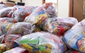 Alimentos foram doados para garantir segurança alimentar dos alunos da rede pública municipal.(foto: divulgação PMP)
