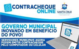 Contracheque online Santa Cruz PE