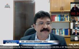 Antonio Fernando defende planejamento gradual, seguro e regionalizado para a reabertura da atividade econômica no pós-pandemia da covid-19