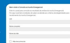 Governo lança novo portal de consulta da situação do auxílio emergencial