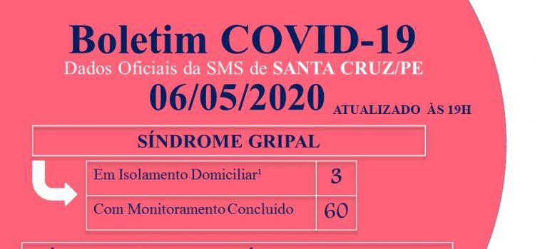 Paciente de Santa Cruz hospitalizada em Recife testa positivo para Covid-19