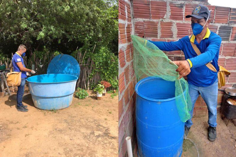 Mutirão de combate a dengue leva informações e cuidados à população de Dormentes