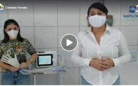 Prefeita Eliane Soares entrega mais 10 leitos equipados no Hospital de Santa Cruz