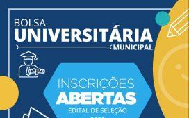Prefeitura de Santa Cruz publica edital de seleção do Programa Bolsa Universitária Municipal