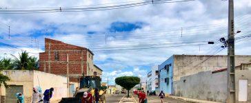 Prefeitura de Dormentes inicia recuperação de ruas após término do período chuvoso
