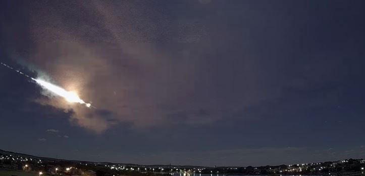 Meteoro é visto sobre cidades mineiras e assusta moradores