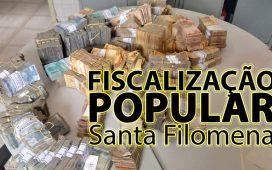 Comunitária prova valores recebidos à Prefeitura de Santa Filomena na Pandemia