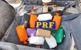 Homem é preso transportando 12 kg de pasta base de cocaína na BR 428, em Petrolina