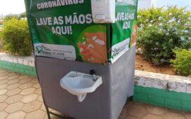 """""""Lave as Mãos"""" da Prefeitura no Socorro não funciona durante a feira!"""