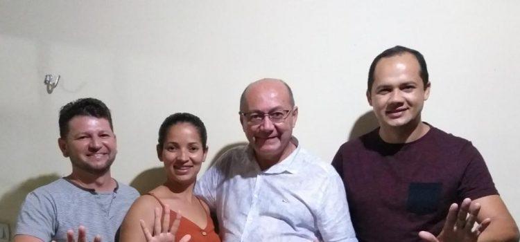 Galeguinho de Altino e esposa declaram apoio à Pedro Gildevan