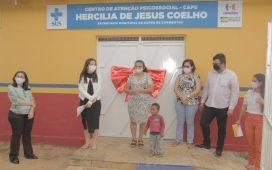 Josimara Cavalcanti inaugura primeira unidade do CAPS em Dormentes