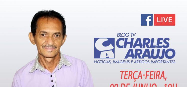 """Antonio Arthur participará da live """"Vereador Por Um Dia"""", terça-feira 09/06 às 19h"""